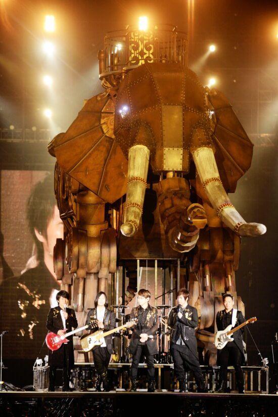 未來巨象登陸驚艷全場